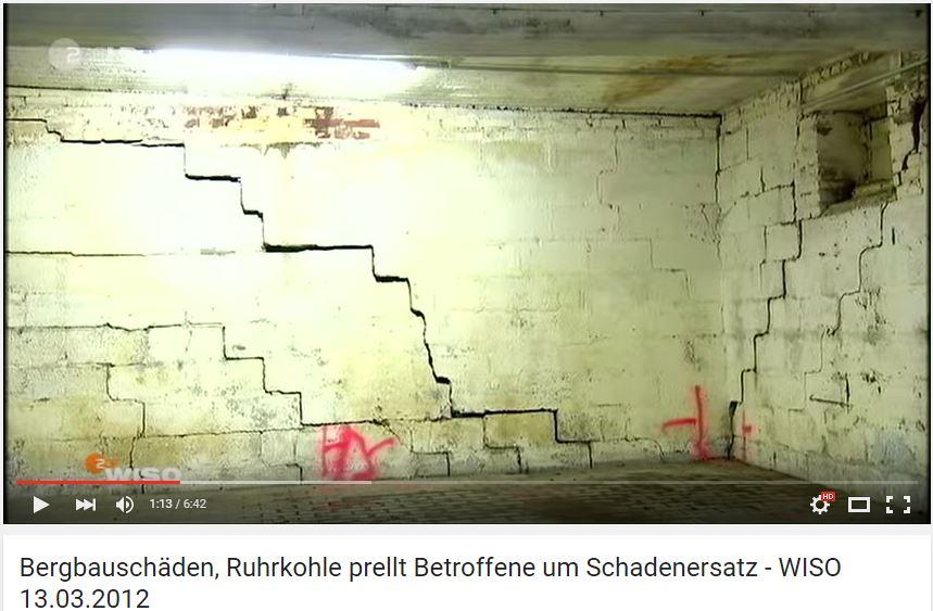 Bergschäden. Ruhrkohle prellt Betroffene um Schadenersatz
